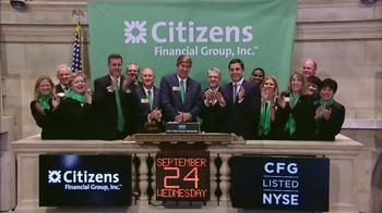 New York Stock Exchange TV Spot, 'Citizen Financial Group' - Thumbnail 6