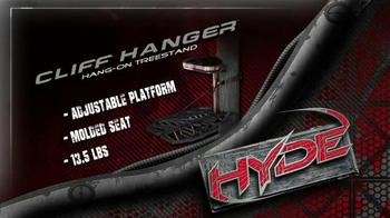 Ameristep Hyde Sky Walker Hang-On Treestand TV Spot, 'Secure for the Hunt' - Thumbnail 7