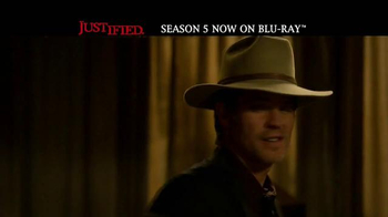 Justified: The Complete Fifth Season Home Entertainment TV Spot - Thumbnail 1