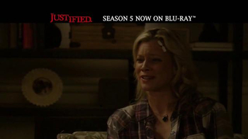 Justified: The Complete Fifth Season Home Entertainment TV Spot - Thumbnail 2