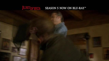 Justified: The Complete Fifth Season Home Entertainment TV Spot - Thumbnail 3