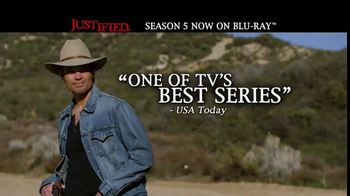 Justified: The Complete Fifth Season Home Entertainment TV Spot - Thumbnail 5