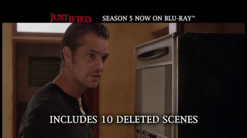 Justified: The Complete Fifth Season Home Entertainment TV Spot - Thumbnail 8