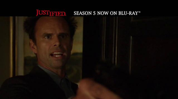 Justified: The Complete Fifth Season Home Entertainment TV Spot - Thumbnail 9