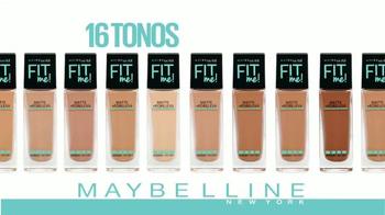 Maybelline New York Fit Me Matte + Poreless Foundation TV Spot [Spanish] - Thumbnail 9