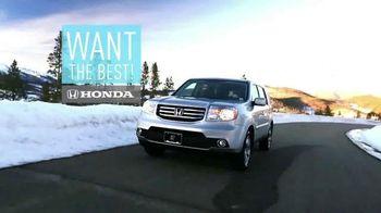 Honda Pilot Clearance Event TV Spot, 'Old Man Winter: 2015 Pilot' - Thumbnail 9
