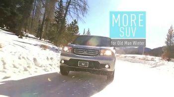 Honda Pilot Clearance Event TV Spot, 'Old Man Winter: 2015 Pilot' - Thumbnail 1
