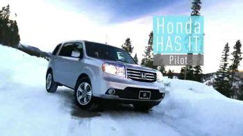 Honda Pilot Clearance Event TV Spot, 'Old Man Winter: 2015 Pilot' - Thumbnail 2