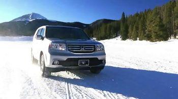 Honda Pilot Clearance Event TV Spot, 'Old Man Winter: 2015 Pilot' - Thumbnail 6