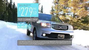 Honda Pilot Clearance Event TV Spot, 'Old Man Winter: 2015 Pilot' - Thumbnail 8