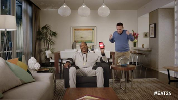 EAT24 2015 Super Bowl Commercial, 'Hangry' Ft Snoop Lion, Gilbert Gottfried - Thumbnail 7