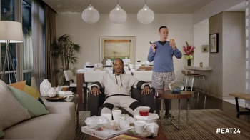 EAT24 2015 Super Bowl Commercial, 'Hangry' Ft Snoop Lion, Gilbert Gottfried - Thumbnail 8