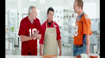 Papa John's TV Spot, 'Super Bowl 2015 Free Pizza Promo' Ft. Peyton Manning - 1127 commercial airings