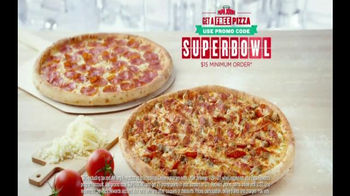 Papa John's TV Spot, 'Super Bowl 2015 Free Pizza Promo' Ft. Peyton Manning - Thumbnail 7