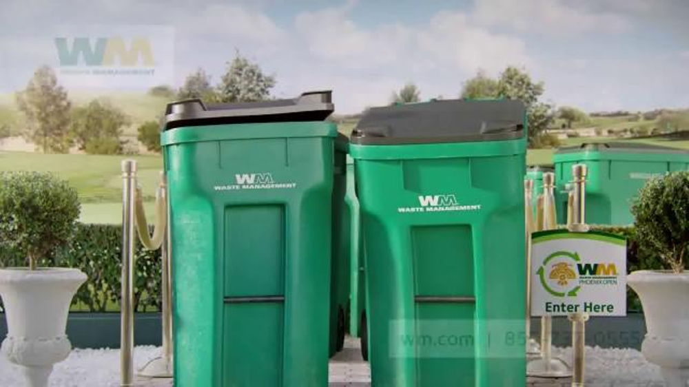 Waste Management Phoenix Open Event TV Commercial, 'No Trash Cans Invited'
