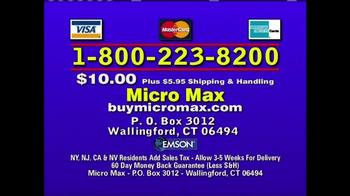 Micro Max TV Spot, 'World's Smallest, Brightest Flashlight' - Thumbnail 10