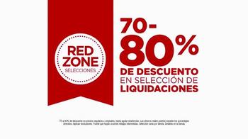 JCPenney Evento de Liquidación Red Zone TV Spot, 'Ven y Ahorra' [Spanish] - Thumbnail 2