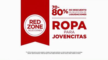 JCPenney Evento de Liquidación Red Zone TV Spot, 'Ven y Ahorra' [Spanish] - Thumbnail 4