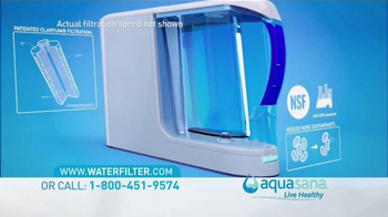 Aquasana TV Spot, 'Reduce Water Containment' Featuring Denise Austin - Thumbnail 3