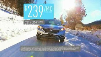 2015 Honda CR-V TV Spot, 'Old Man Winter' - Thumbnail 10