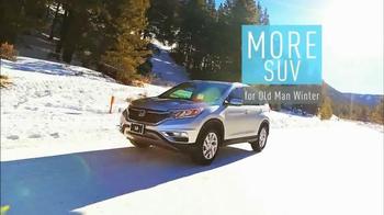 2015 Honda CR-V TV Spot, 'Old Man Winter' - Thumbnail 2
