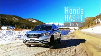 2015 Honda CR-V TV Spot, 'Old Man Winter' - Thumbnail 4