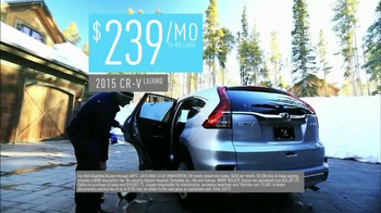 2015 Honda CR-V TV Spot, 'Old Man Winter' - Thumbnail 8