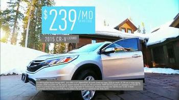 2015 Honda CR-V TV Spot, 'Old Man Winter' - Thumbnail 9