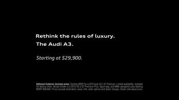 2015 Audi A3 TV Spot, 'Driver' - Thumbnail 7