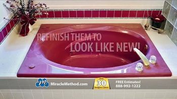 Miracle Method TV Spot, 'Make Your Ugly Tub & Shower Beautiful'
