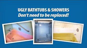 Miracle Method TV Spot, 'Make Your Ugly Tub & Shower Beautiful' - Thumbnail 1