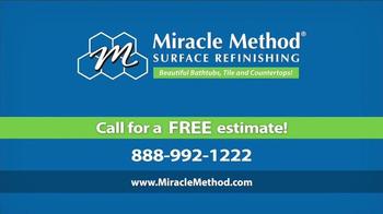 Miracle Method TV Spot, 'Make Your Ugly Tub & Shower Beautiful' - Thumbnail 10