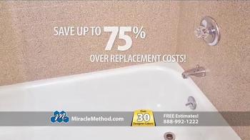 Miracle Method TV Spot, 'Make Your Ugly Tub & Shower Beautiful' - Thumbnail 7