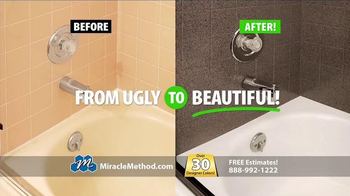 Miracle Method TV Spot, 'Make Your Ugly Tub & Shower Beautiful' - Thumbnail 8