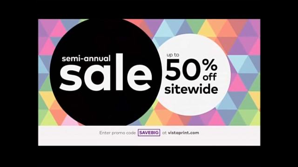 Vistaprint Semi-Annual Sale TV Commercial, \'Do It Now\' - iSpot.tv