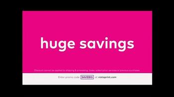 Vistaprint Semi-Annual Sale TV Spot, 'Do It Now' - Thumbnail 5