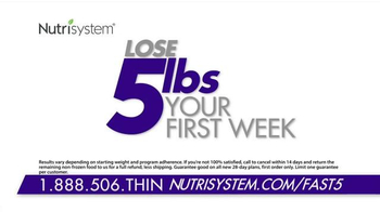 Nutrisystem Fast 5 TV Spot, 'Tried Them All' Featuring Marie Osmond - Thumbnail 5