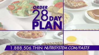 Nutrisystem Fast 5 TV Spot, 'Tried Them All' Featuring Marie Osmond - Thumbnail 7