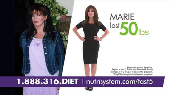 Nutrisystem Fast 5+ TV Spot, 'Little Black Dress Moment' Feat. Marie Osmond - Thumbnail 4