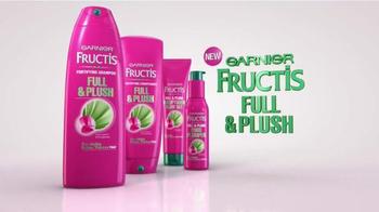 Garnier Fructis Full & Plush TV Spot, 'Big, Big Hair' - Thumbnail 10