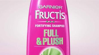 Garnier Fructis Full & Plush TV Spot, 'Big, Big Hair' - Thumbnail 3