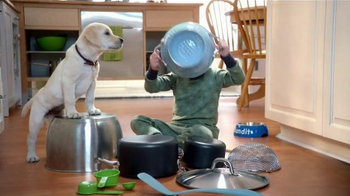 Purina Puppy Chow TV Spot, 'Bandit's Fun in the Kitchen' - Thumbnail 1