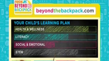Nick Jr. Beyond the Backpack TV Spot, 'Ready' Featuring Tia Mowry-Hardict - Thumbnail 6