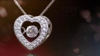 Helzberg Diamonds Beat of Your Heart Pendant TV Spot, 'Sure Thing' - Thumbnail 4