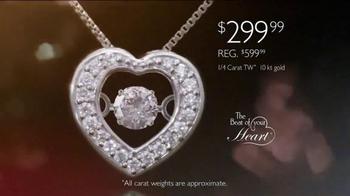 Helzberg Diamonds Beat of Your Heart Pendant TV Spot, 'Sure Thing' - Thumbnail 5