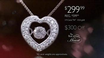 Helzberg Diamonds Beat of Your Heart Pendant TV Spot, 'Sure Thing' - Thumbnail 6
