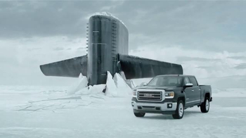 2015 GMC Sierra TV Spot, 'Submarine Hull'