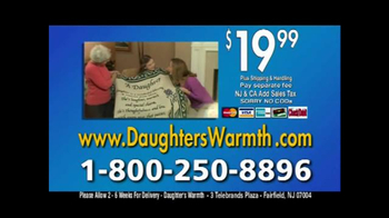 Daughter's Warmth TV Spot - Thumbnail 10