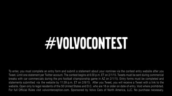 Volvo TV Spot, 'Greatest Interception Ever: Who Would You Give a Volvo to' - Thumbnail 10