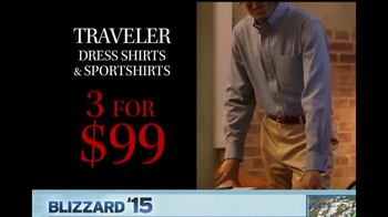 JoS. A. Bank TV Spot, 'Three for $99 Traveler Dress and Sportshirts' - Thumbnail 3